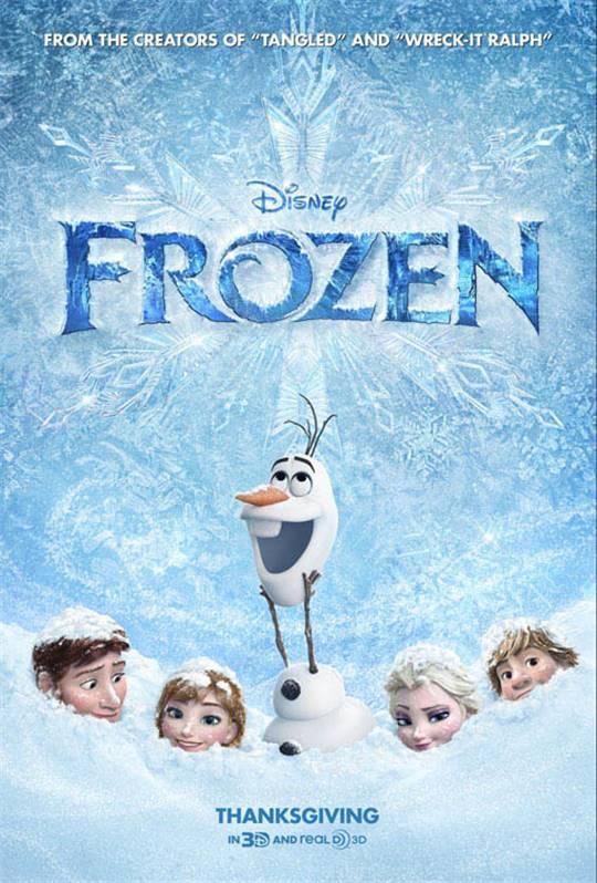 Frozen Large Poster