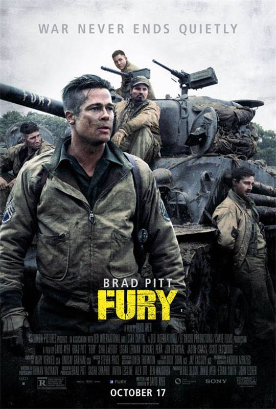 Fury Large Poster
