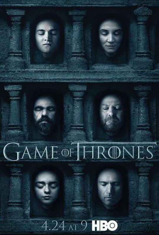 Game of Thrones: Season 6 Large Poster