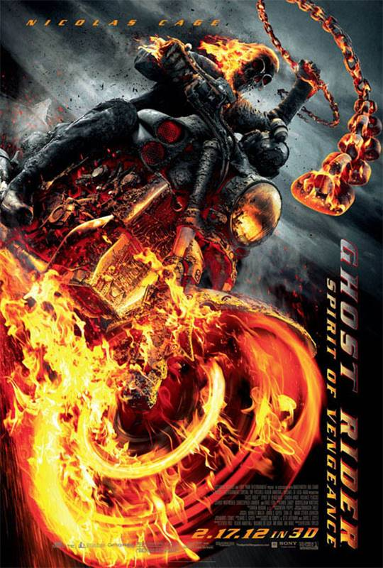 Ghost Rider: Spirit of Vengeance Large Poster