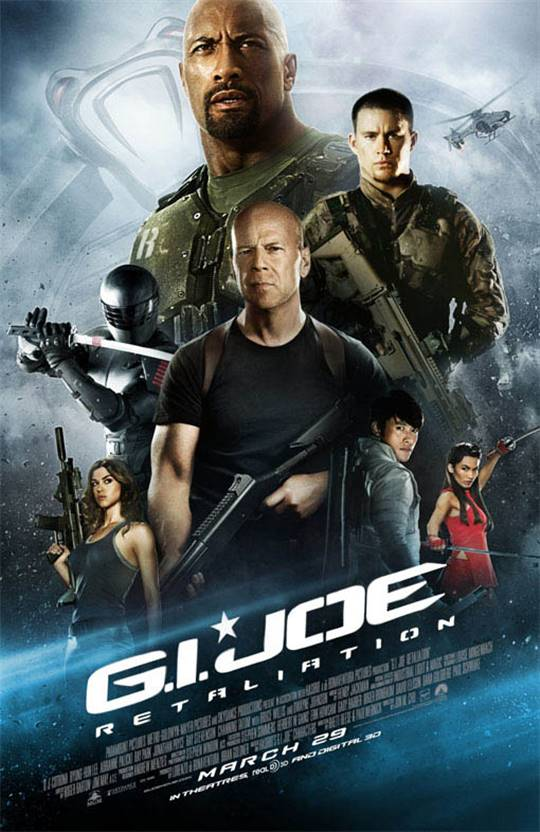 G.I. Joe: Retaliation Large Poster
