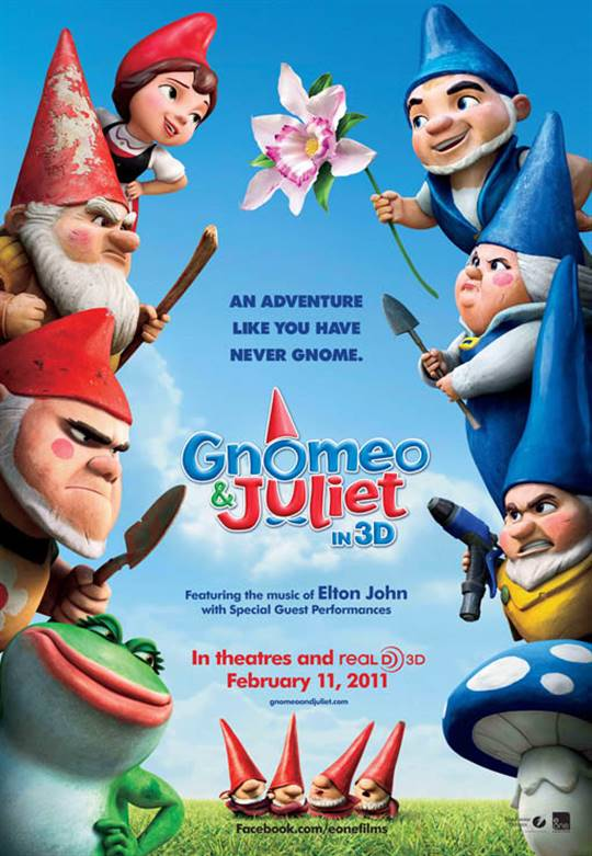 Gnomeo & Juliet Large Poster