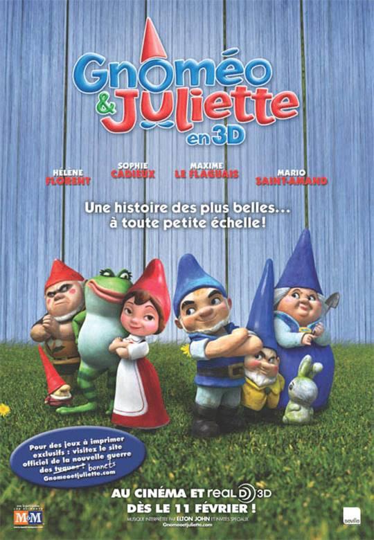 Gnomeo & Juliet 3D (v.o.a.) Large Poster