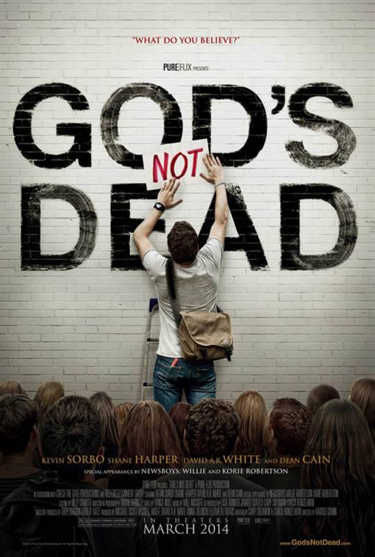 God's Not Dead Large Poster