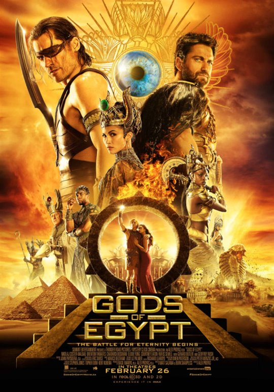 Gods of Egypt Large Poster
