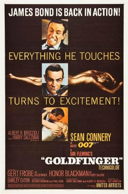 Goldfinger Large Poster