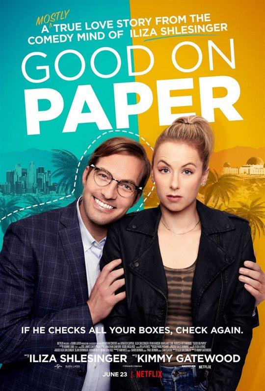Good on Paper (Netflix) Large Poster