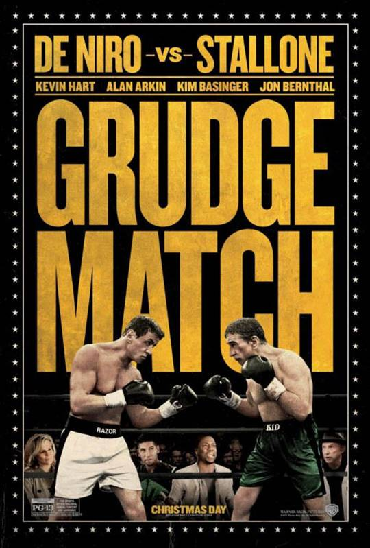 Grudge Match Large Poster
