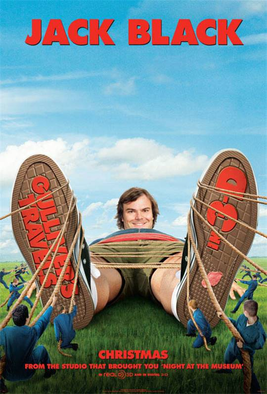Gulliver's Travels Large Poster