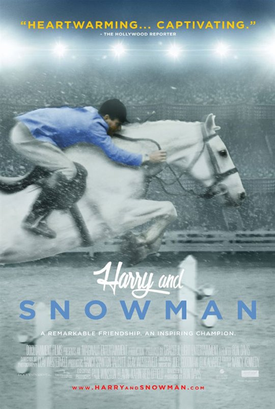 Harry and Snowman Large Poster