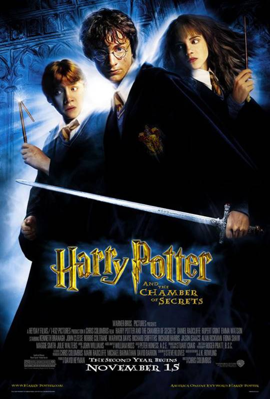Harry Potter and the Chamber of Secrets Large Poster