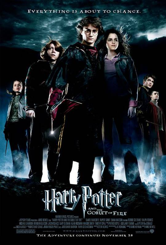 Harry Potter and the Goblet of Fire Large Poster