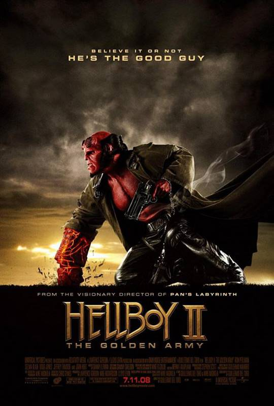 Hellboy II: The Golden Army Large Poster