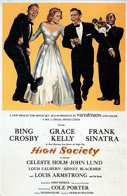 High Society (1956) Large Poster