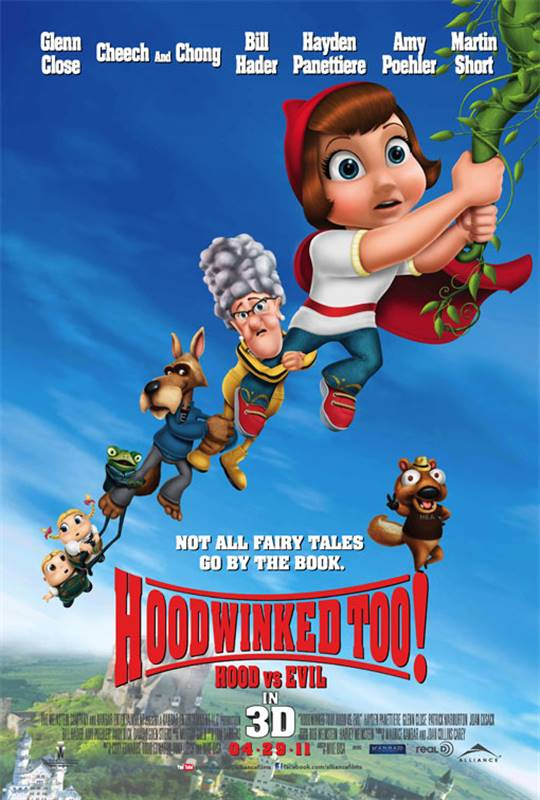 Hoodwinked Too! Hood vs. Evil Large Poster
