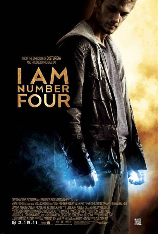 I Am Number Four Large Poster