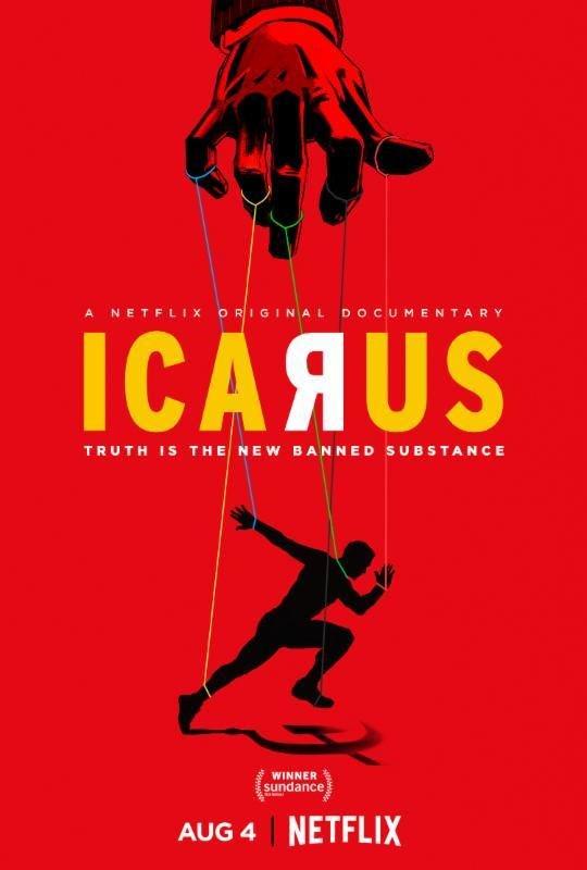 Icarus (Netflix) Large Poster