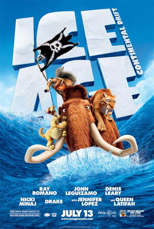 Ice Age: Continental Drift Large Poster