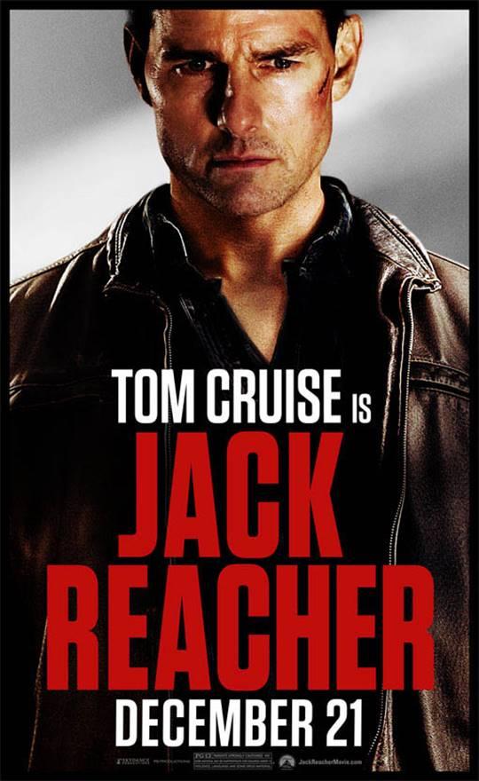Jack Reacher Large Poster