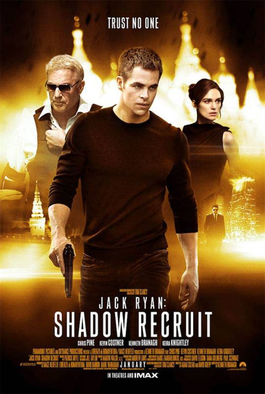 Jack Ryan: Shadow Recruit Large Poster