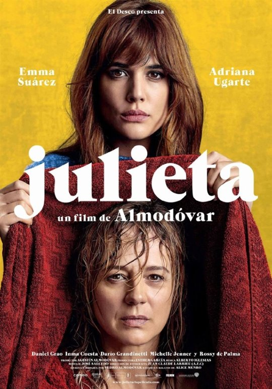 Julieta Large Poster