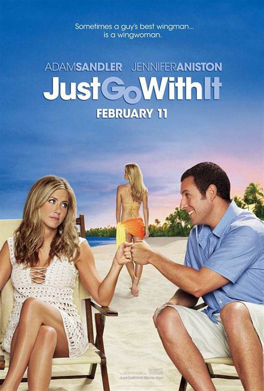 Just Go With It Large Poster