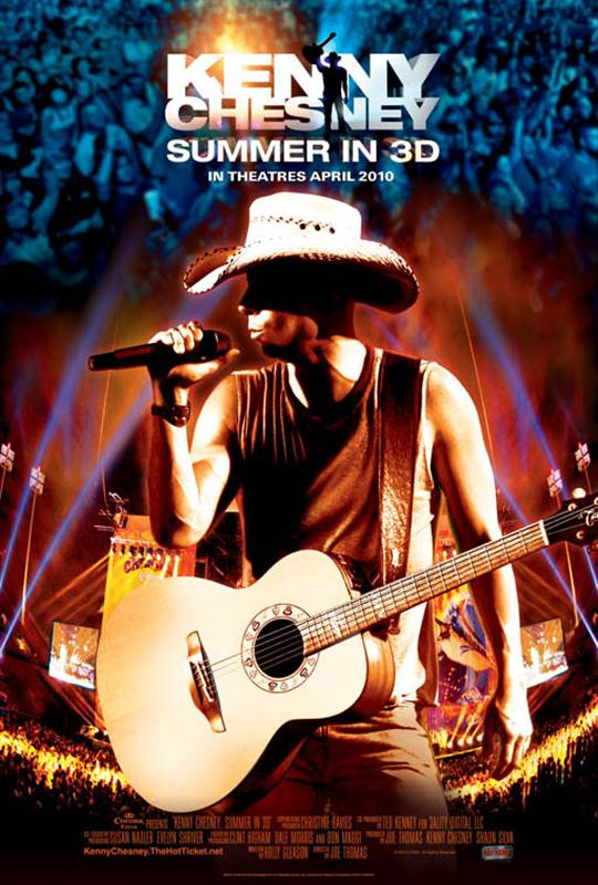 Kenny Chesney: Summer in 3D Large Poster