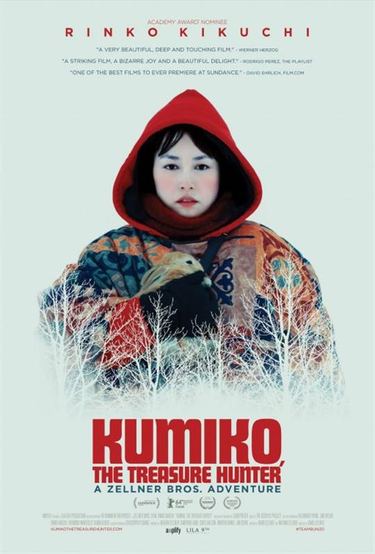 Kumiko, the Treasure Hunter Large Poster