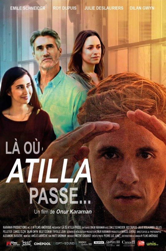 There Where Atilla Passes...
