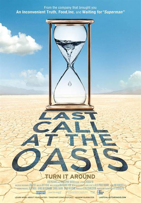 Last Call at the Oasis Large Poster