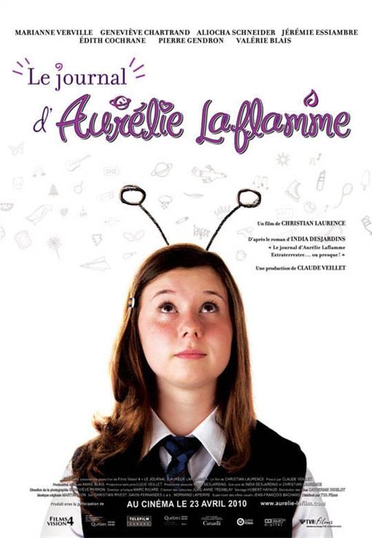 Le journal d'Aurélie Laflamme Large Poster