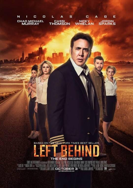 Left Behind Large Poster