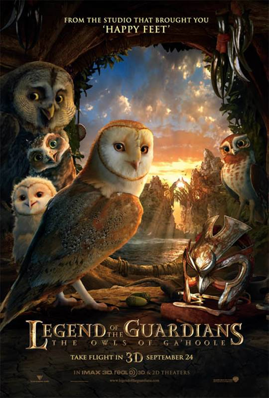 Legend of the Guardians: The Owls of Ga'Hoole Large Poster