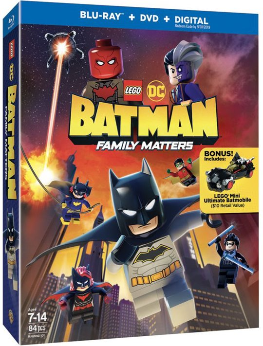 LEGO DC: Batman - Family Matters Large Poster