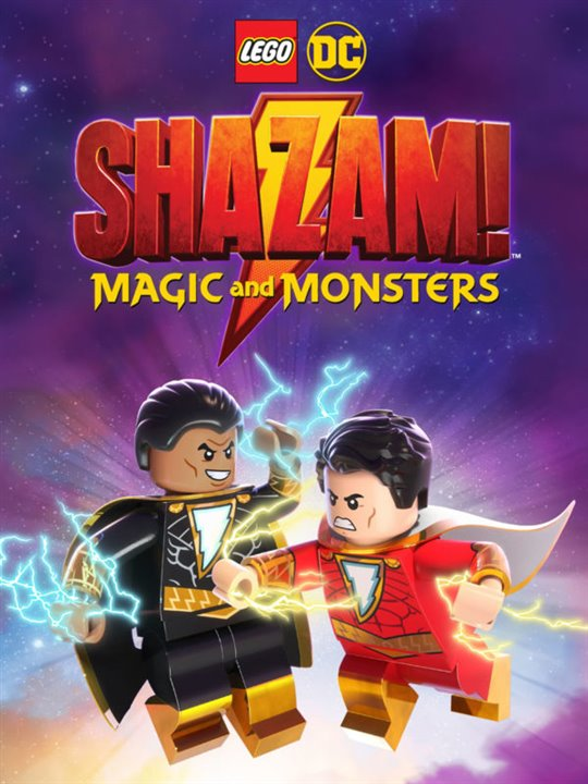 LEGO DC: Shazam! Magic and Monsters Large Poster