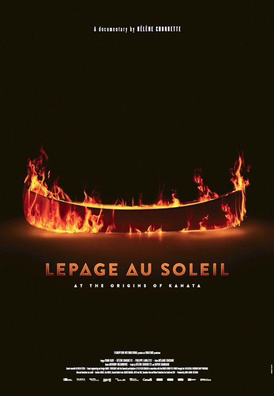 Lepage au Soleil: At the Origins of Kanata Large Poster