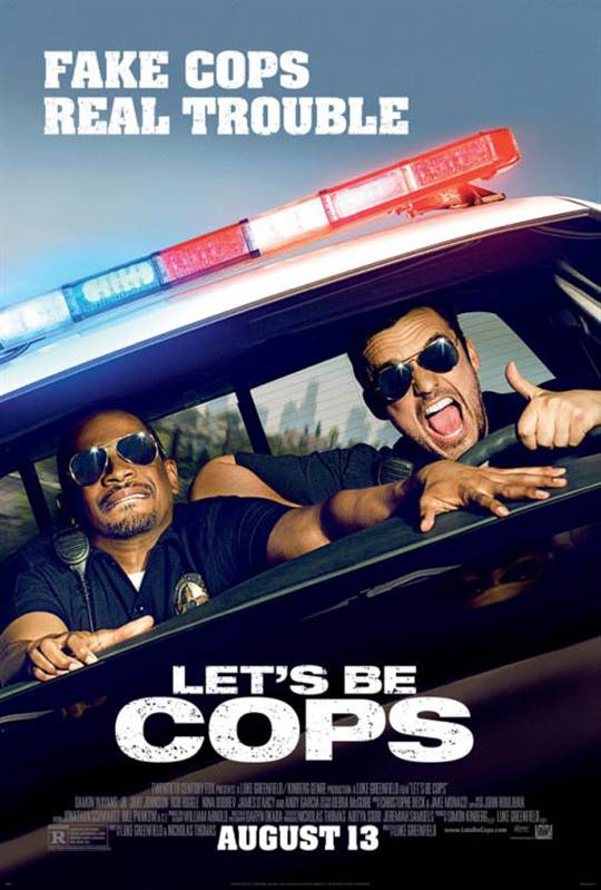 Let's Be Cops Large Poster