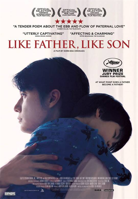 Like Father, Like Son Large Poster