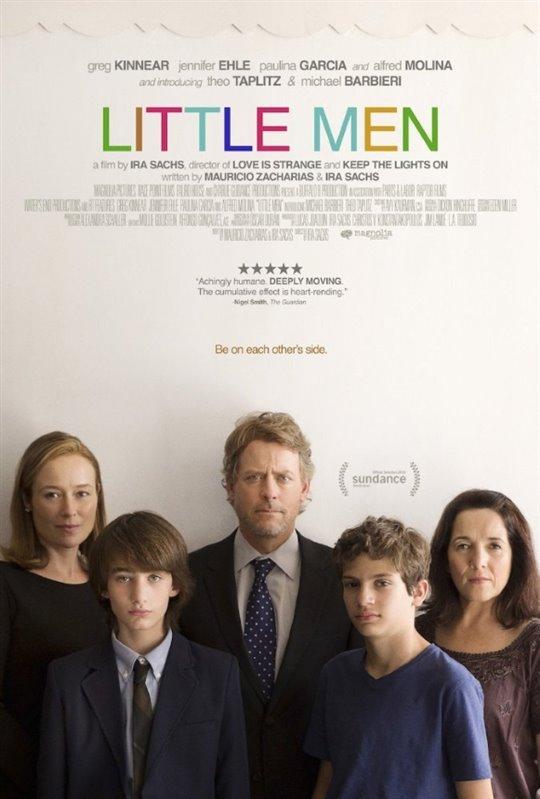 Little Men Large Poster