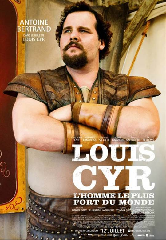 Louis Cyr: The Strongest Man in the World Large Poster