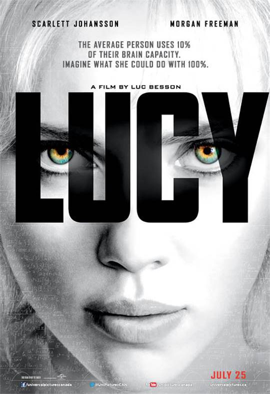 Lucy: The IMAX Experience Large Poster