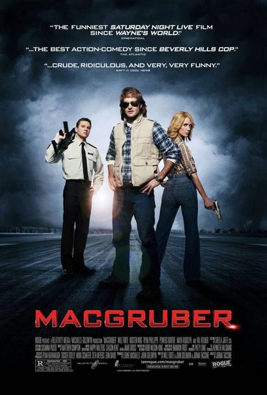 MacGruber Large Poster