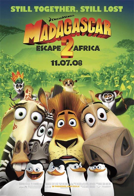Madagascar: Escape 2 Africa Large Poster