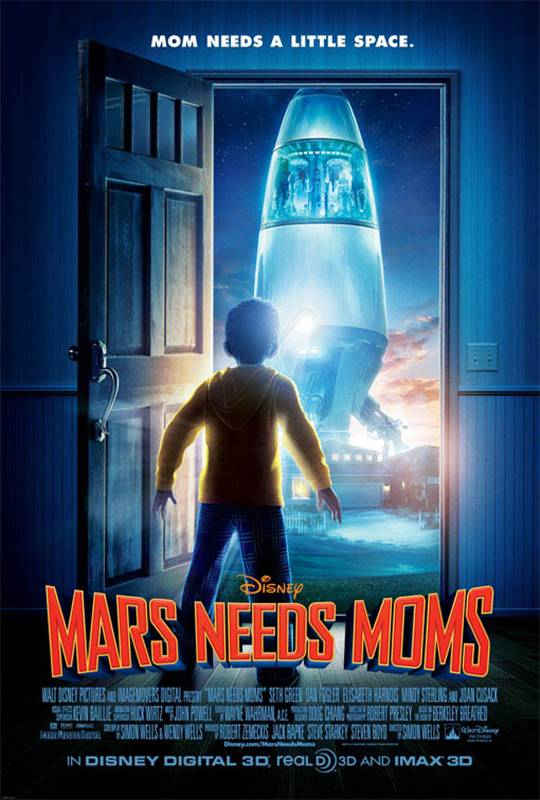 Mars Needs Moms Large Poster