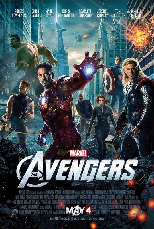 Marvel Studios 10th: The Avengers (IMAX 3D)
