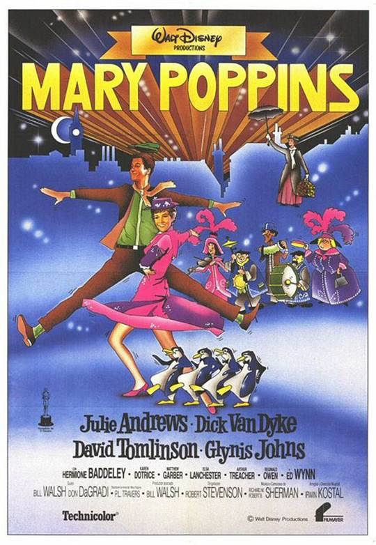 Mary Poppins Large Poster