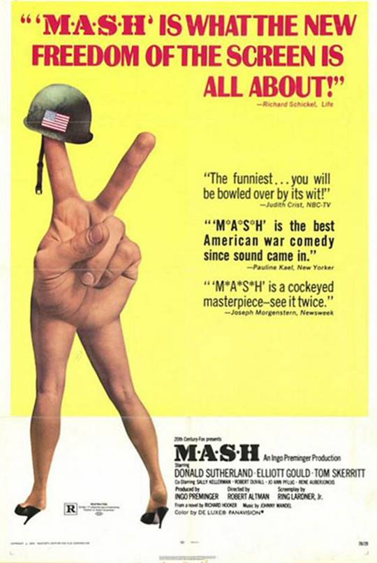 M.A.S.H. Large Poster