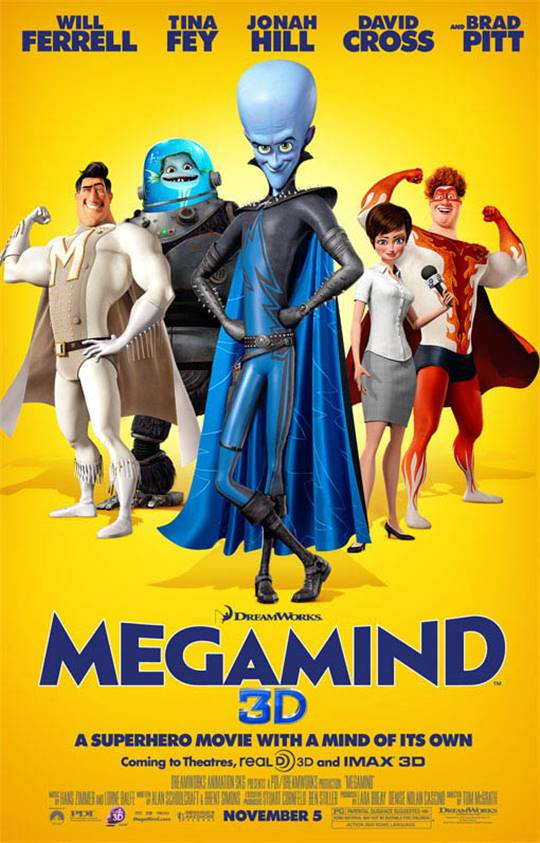 Megamind Large Poster