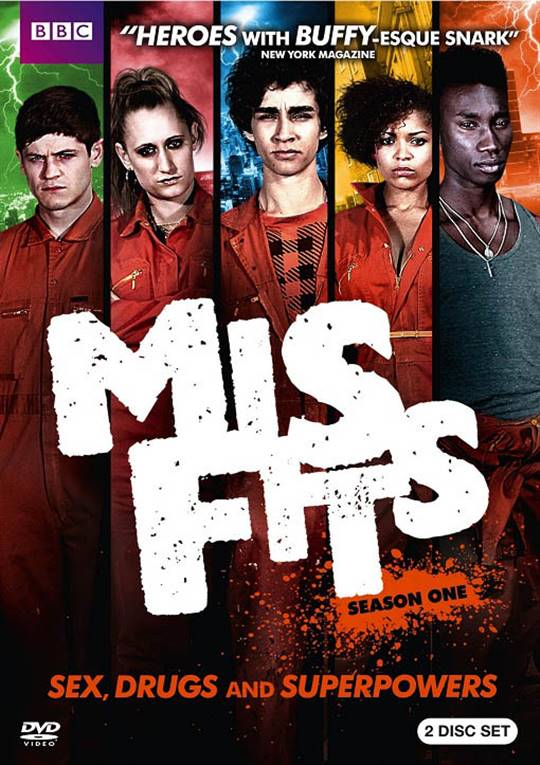 Misfits: Season One Large Poster