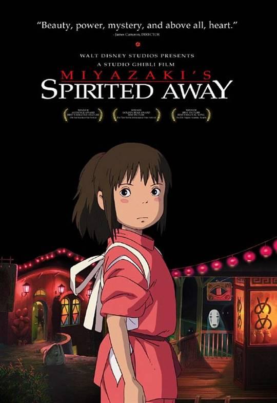 Miyazaki's Spirited Away (Dubbed) Large Poster